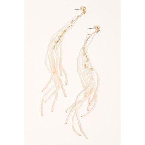 Free People Double Dare Dangle Earrings NWT